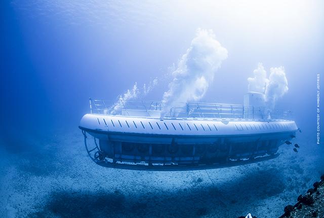 夏威夷欧胡岛亚特兰蒂斯标准潜水艇【亚特兰蒂斯巴士接送+48座门票+海底探秘】
