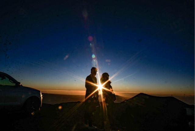 日落观星之旅