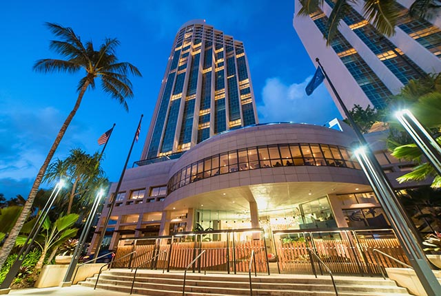 Prince Waikiki-Honolulu Luxury Hotel(威基基普林斯王子酒店+含免费威基基市内穿梭巴士)