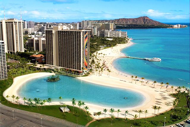 Hilton Hawaiian Village (夏威夷威基基海滩希尔顿度假村)